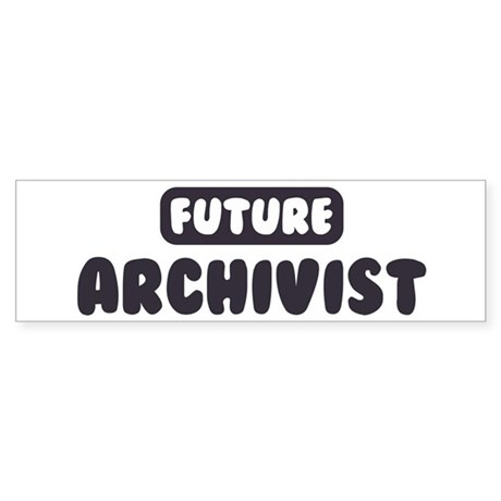 Future Archivist Bumper Sticker