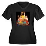 16th Birthday Gifts, 16 Women's Plus Size V-Neck D