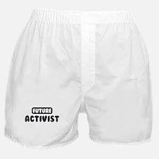 Future Activist Boxer Shorts
