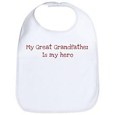Great Grandfather is my hero Bib