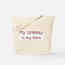 Granny is my hero Tote Bag