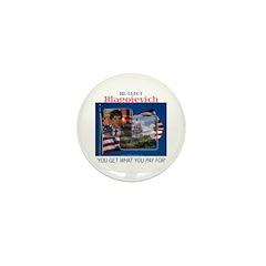 Re-Elect Blagojevich Mini Button