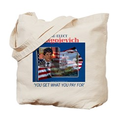 Re-Elect Blagojevich Tote Bag