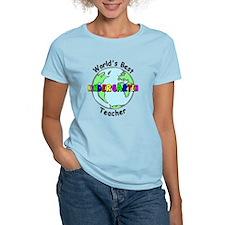 Best Kindergarten Teacher T-Shirt