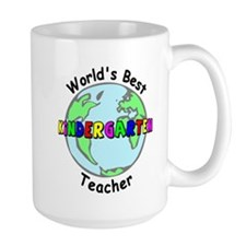 Best Kindergarten Teacher Mug