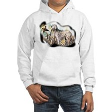 setter and pheasant Hoodie