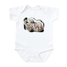 setter and pheasant Infant Bodysuit