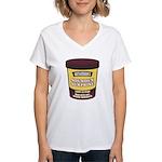 Soundex Surprise Women's V-Neck T-Shirt