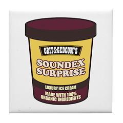Soundex Surprise Tile Coaster