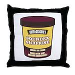Soundex Surprise Throw Pillow