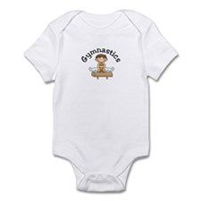 Brunette Pommel Horse Boy Infant Bodysuit