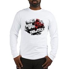 WIDE OPEN THROTTLE Long Sleeve T-Shirt