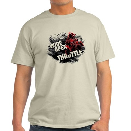 WIDE OPEN THROTTLE Light T-Shirt