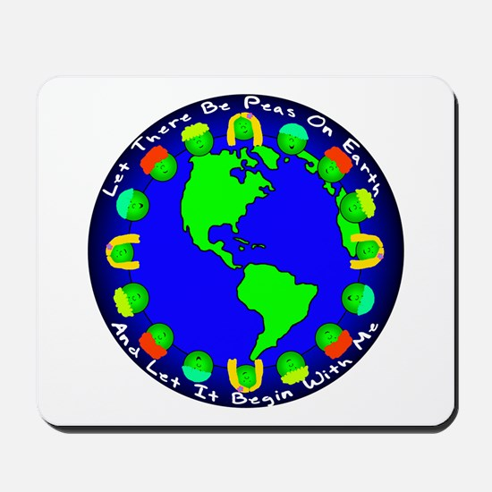 Let There Be Peas On Earth... Mousepad
