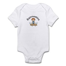 Red Head Gymnast Boy Infant Bodysuit