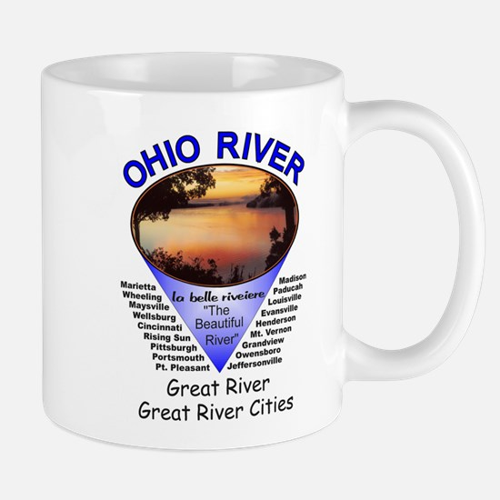 Cute Fishing ohio Mug