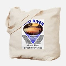 Cool Fishing ohio Tote Bag