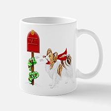 Christmas Papillon Mail Sable Mug