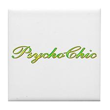 Psycho Chic Tile Coaster