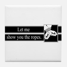 Ropes Tile Coaster