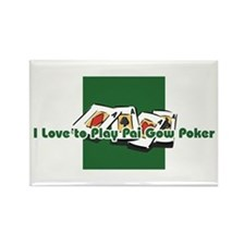 Pai Gow Poker Rectangle Magnet