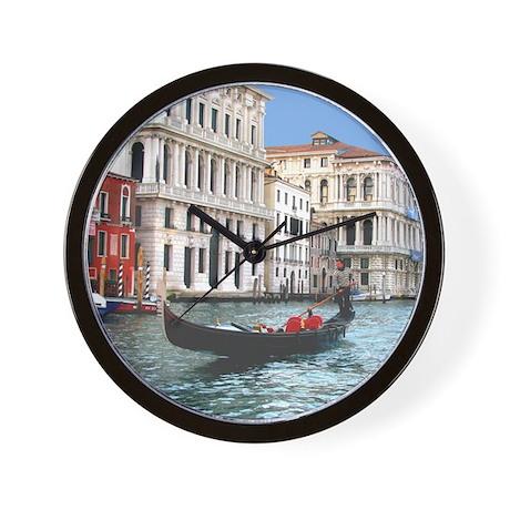 Venice Gondola original photo - Wall Clock