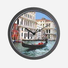 Venice Gondola original photo - Wall Clock