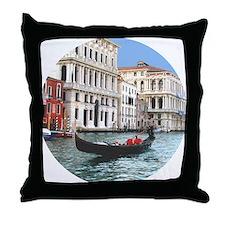 Venice Gondola original photo - Throw Pillow