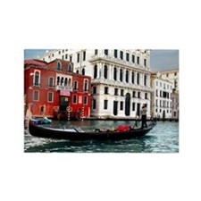 Venice Gondola original photo - Rectangle Magnet (