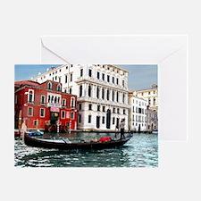 Venice Gondola original photo - Greeting Card