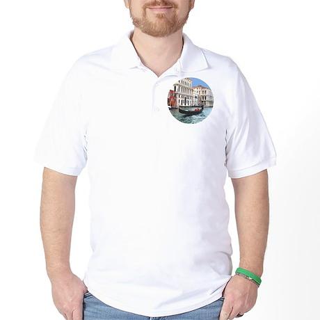 Venice Gondola original photo - Golf Shirt