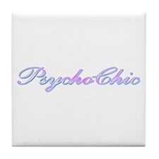 Psycho Chic Tile Coaster