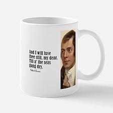 """Burns """"Luve Thee Still"""" Mug"""