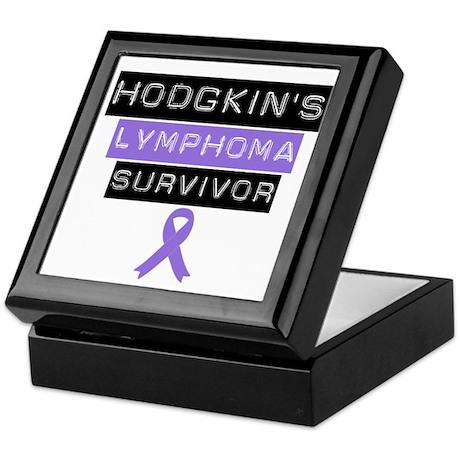 Hodgkin's Disease Survivor Keepsake Box