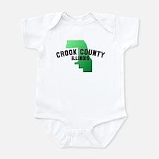 Crook County Infant Bodysuit