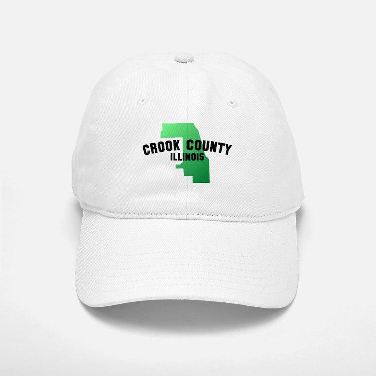 Crook County Baseball Baseball Cap