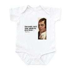 "Burns ""Flow Gently"" Infant Bodysuit"