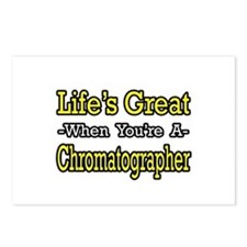 """Happy Chromatographer"" Postcards (Package of 8)"