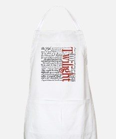 Movie Twilight Quotes Gifts BBQ Apron