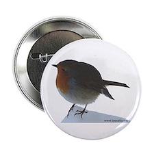 "Robin Redbreast 2.25"" Button"