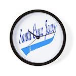 Santa Cruz Jews Uniform-style Wall Clock