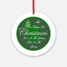 Magic Christmas Ornament (Round)