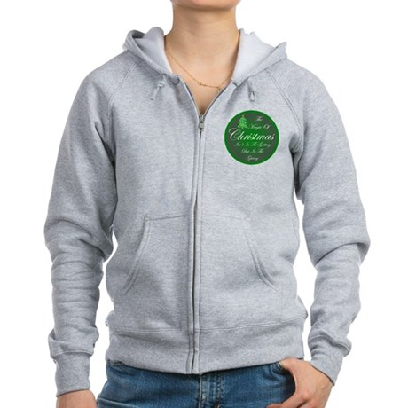 Magic Christmas Women's Zip Hoodie