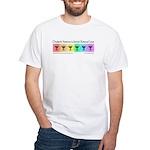Chadeish Yameinu is Love. White T-Shirt