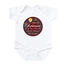 Spirit Of Christmas Infant Bodysuit