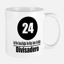 24 Divisadero (Classic) Mug