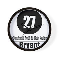 27 Bryant (Classic) Wall Clock