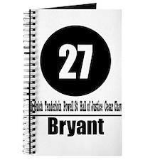 27 Bryant (Classic) Journal