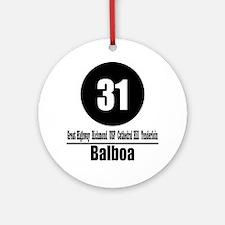 31 Balboa (Classic) Ornament (Round)