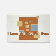 Pai Gow Rectangle Magnet